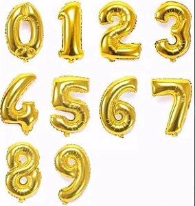 Balão de Números 40 cm