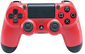 Controle sem Fio DualShock 4 Sony PS4 - Vermelho