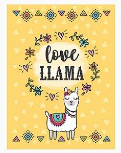 Bloquinho Love Llama