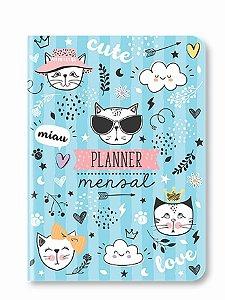 Planner Mensal Gatinho
