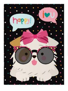 Planner Mensal Happy Dog