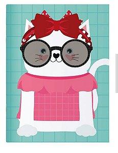 Planner Mensal Happy Gato