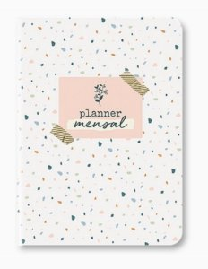 Planner Mensal Terrazzo