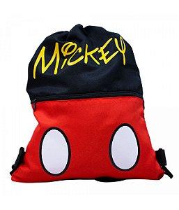 Mochila Tipo Saco Mickey Disney