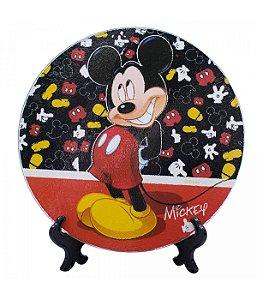 Suporte de Panela Vidro Mickey Mouse  Disney