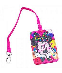 Etiqueta Para Bagagem viagem Rosa Minnie  Disney