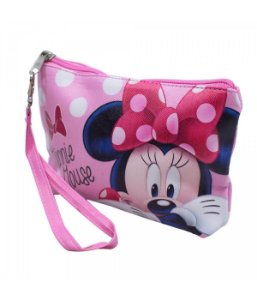 Necessaire Rosa Minnie 14x3x19cm  Disney