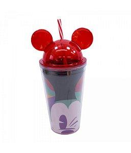 Copo Orelhas Mickey Piscando Disney 90 anos