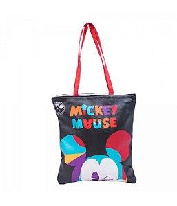 Bolsa Mickey Piscando 90 Anos - Disney