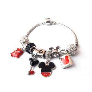 Pulseira MY WORD Mickey Mouse Style static – completa com 9 belorques