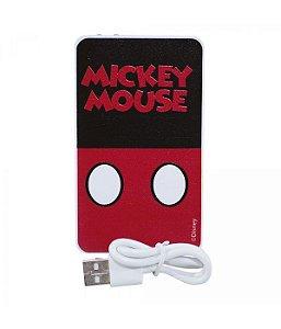 Carregador Portátil Roupa Mickey