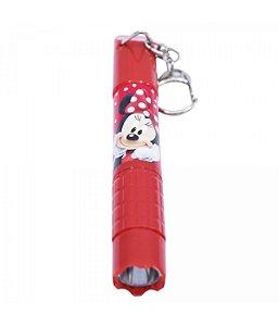 Caneta Lanterna Vermelho Minnie - Disney