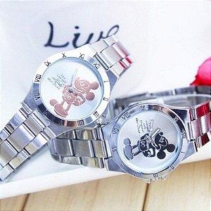 Relógio Mickey Mouse Inox