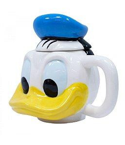 Caneca  Donald Porcelana Rosto 470ml  Disney