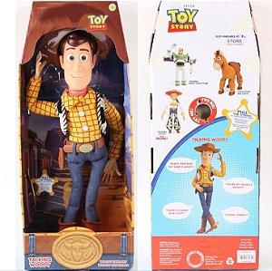 Woody toy story 43 cm boneco