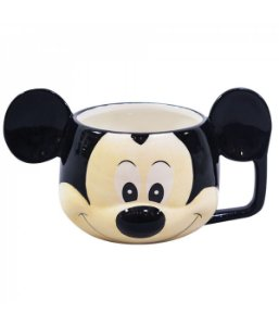Caneca De Porcelana formato rosto Mickey Mouse  - Disney 280ml