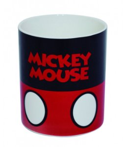 Caneca de Porcelana Mickey Mouse Disney 370ml
