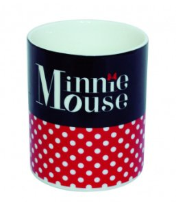 Caneca de Porcelana Minnie Mouse Disney 370ml