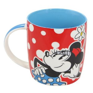 Caneca minnie mouse disney de porcelana charmosa