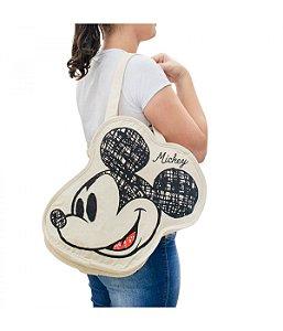 Bolsa Mickey Disney faces carinhas