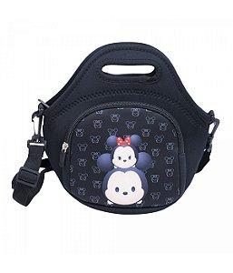 Bolsa Mickey Mouse térmica Tsum preta Disney