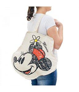 Bolsa Minnie Mouse carinhas  Disney