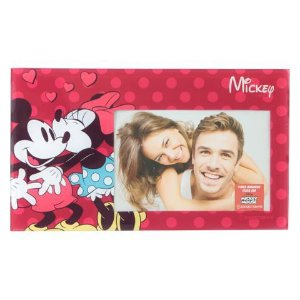 Porta Retrato Mickey e Minnie Disney