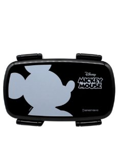 Lunch Box Marmita + Talheres 750ml Mickey Mouse Disney  Silhueta