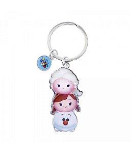 Chaveiro Anna Elsa Olaf Frozen Tsum  Disney