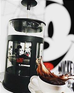Cafeteira Prensa Francesa Em Vidro Mickey Disney