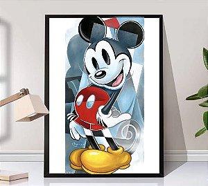 Quadro moldura Mickey rascunho