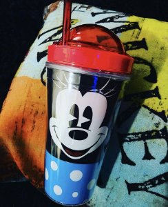 Copo Minnie Mouse com compartimento 500 ml Disney