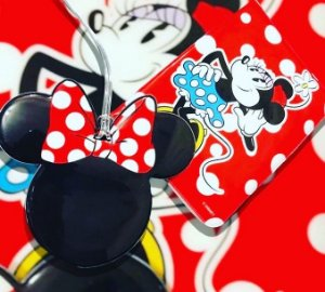 Kit tag minnie  + capa passaporte Minnie  Disney
