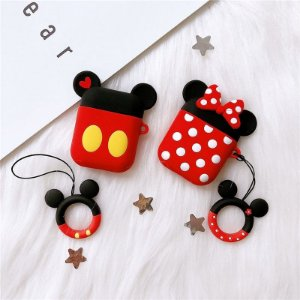 Case para airpods Mickey e Minnie