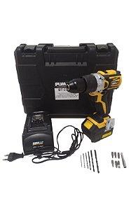 Furadeira/Parafusadeira de Impacto 1/2 1800 RPM C/ Carregador e Bateria 18A-2P - PUMA