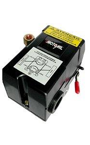 Pressostato Automatico 80/120lbf 4 Vias C/Alavanca - MOTOMIL