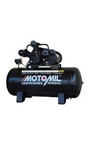 Compressor 15 PÉS 3HP 175 litos - 140 Lb monof. MOTOMIL