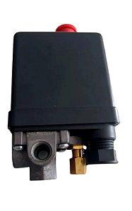 Pressostato Automatico 80/120lbf 4 Vias C/Botao - MOTOMIL
