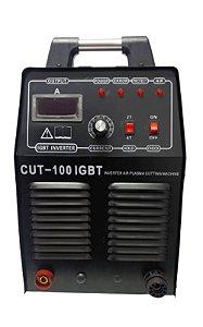 Maquina de corte Plasma CUT - 100 (Monof. 220V / Trif. 220V/380V/440V) - SAINTS