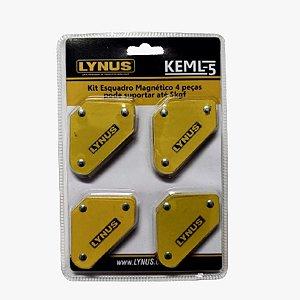 Kit Esquadro Magnetico 5K  LYNUS