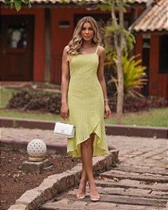 Vestido Midi Laise Donna Ritz