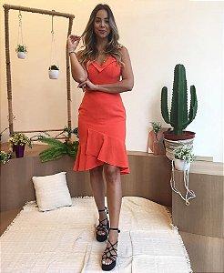 Vestido Liso Midi