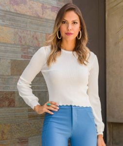 Cropped Tricot Morina