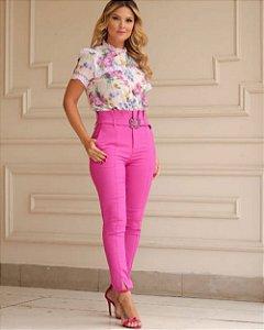 Calça Alfaiataria Clochard Pink