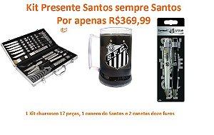 kit presente Santos sempre Santos