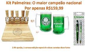 kit Palmeiras o maior campeão nacional