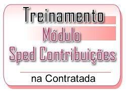 6 - SPED CONTRIBUIÇÕES - Treinamento na Contratada