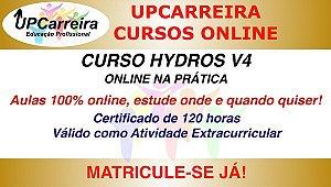 Curso Hydros V4 Online na Prática - Especialização em Projetos Hidrossanitários com Certifcado 120hs