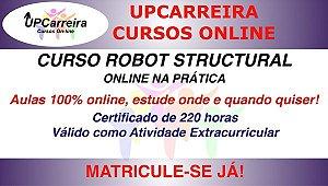 Curso Robot Structural Online com NBR 6118 | Formção em Software p/ Análise Estrutural com Certificado 220h