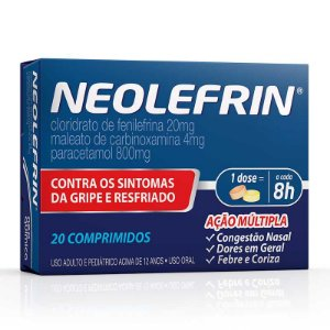 Neolefrin com 20 comprimidos Neo Química